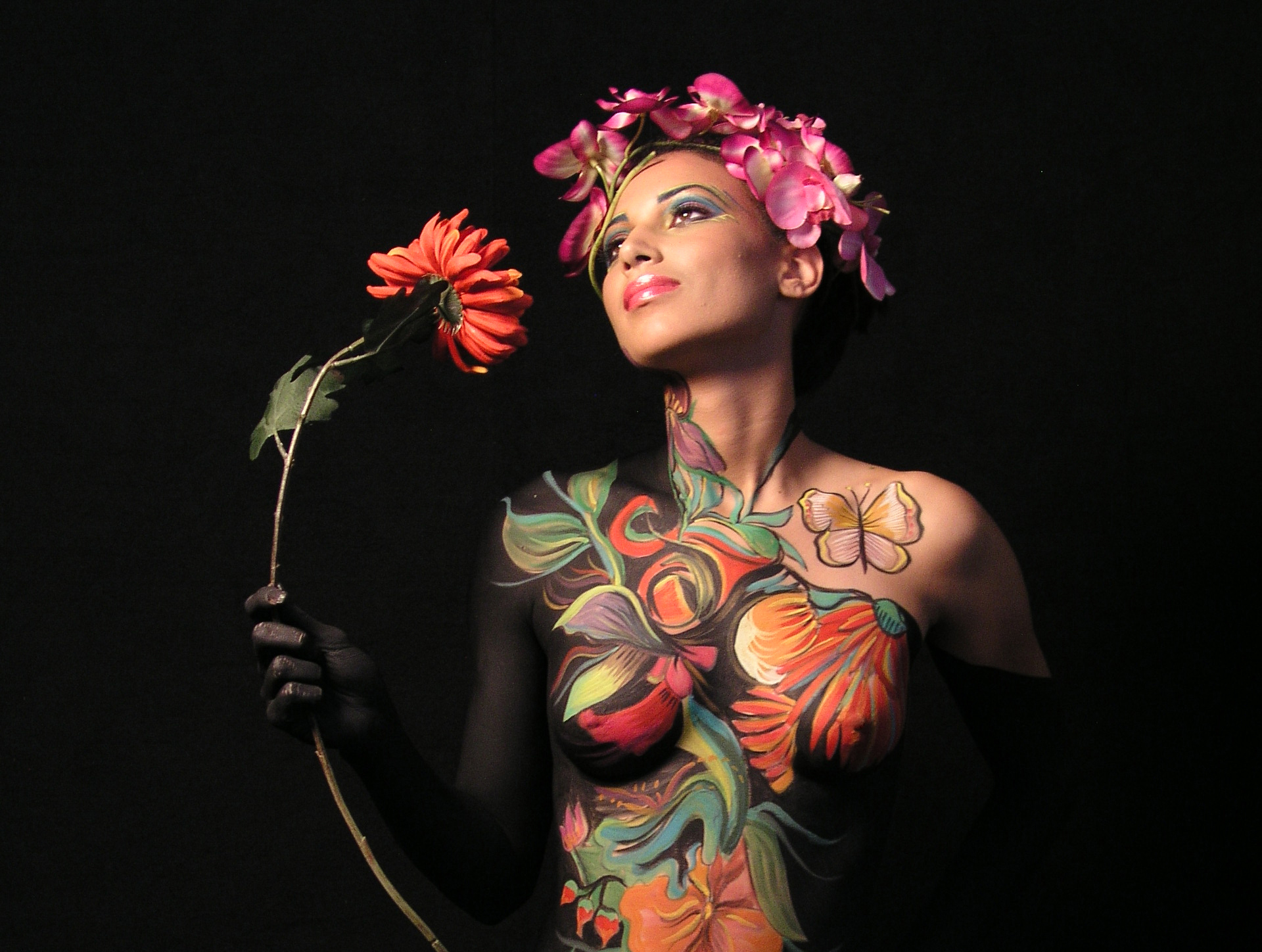 Covered Coffee Table Book Baltimore Maryland Body Paint Artist Jen Seidel