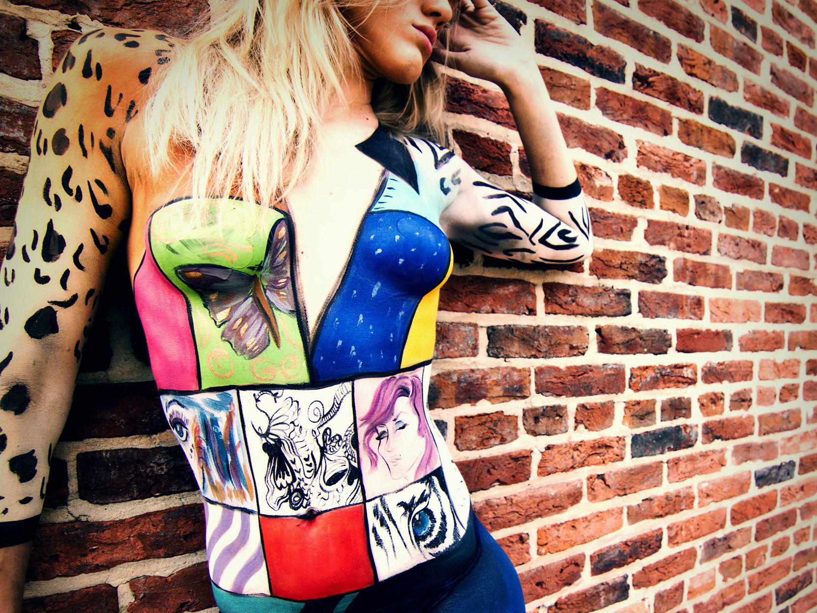Jen Seidel Gallery Art Body Painter Store